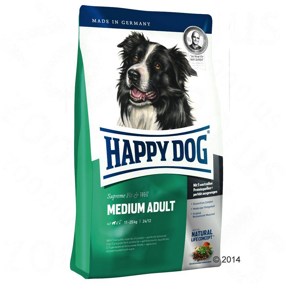 Happy Dog Supreme Young Happy Dog Supreme Fit & Well Medium Adult - 12,5 kg