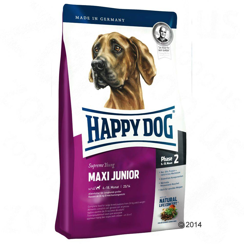 Happy Dog Supreme Young Maxi Junior (Phase 2) - 15 kg