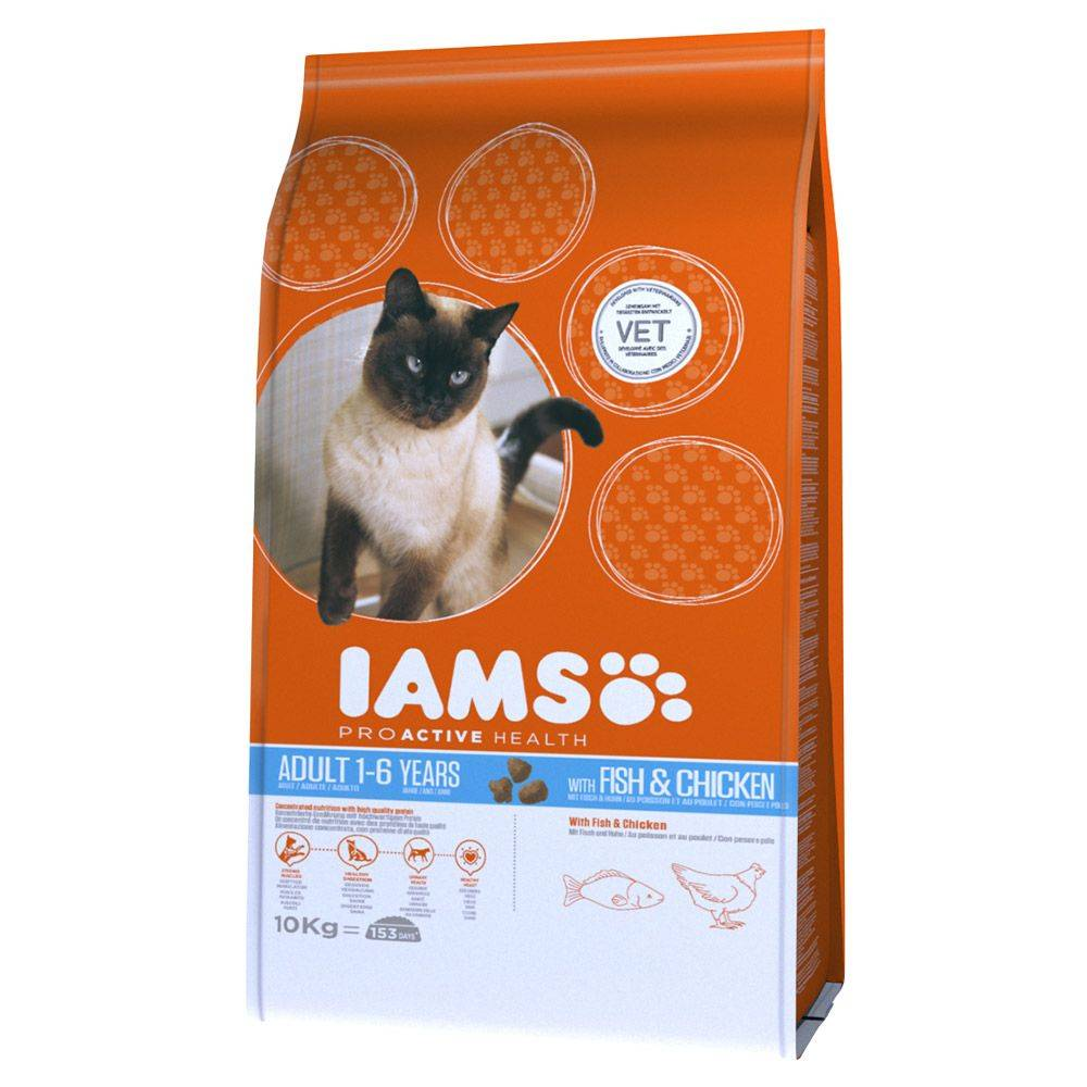 IAMS Pro Active Health Adult Ocean Fish - 10 kg