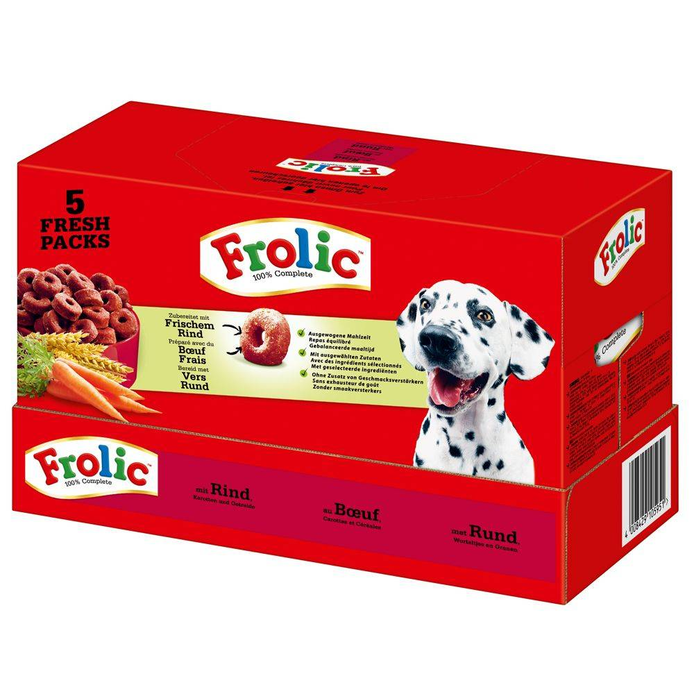 Frolic Complete with Beef - 2 x 7,5 kg