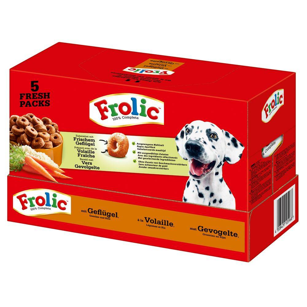 Frolic Complete with Poultry - 2 x 7,5 kg