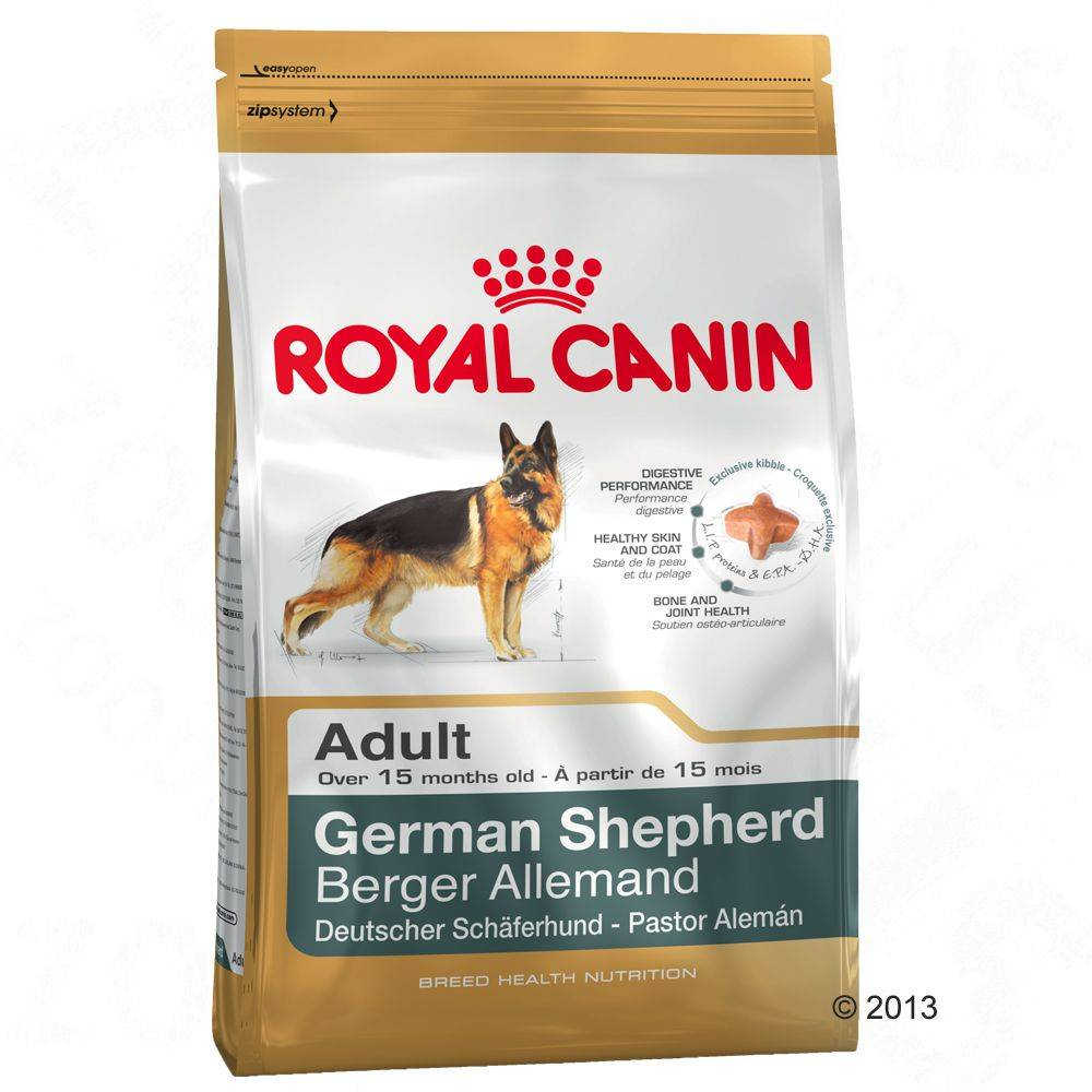 Royal Canin Breed German Shepherd Adult - 12 kg + 2 kg kaupan päälle!