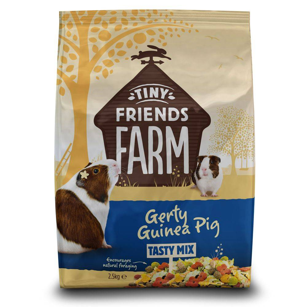 Supreme Tiny Friends Farm Gerty Guinea Pig Tasty Mix - 2,5 kg