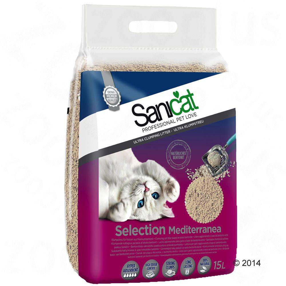 Sanicat Selection Mediterranea - 15 l