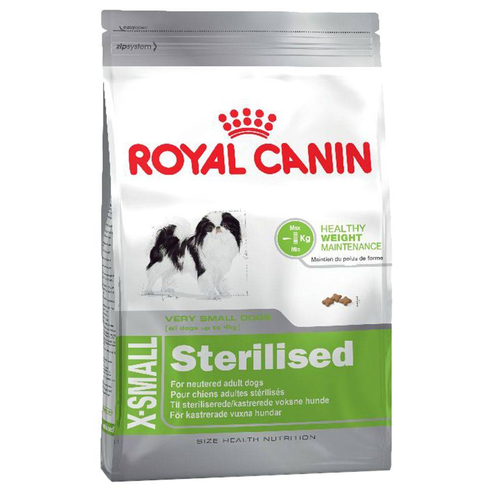 Royal Canin Size Royal Canin Health Nutrition X-Small Sterilised - 1,5 kg