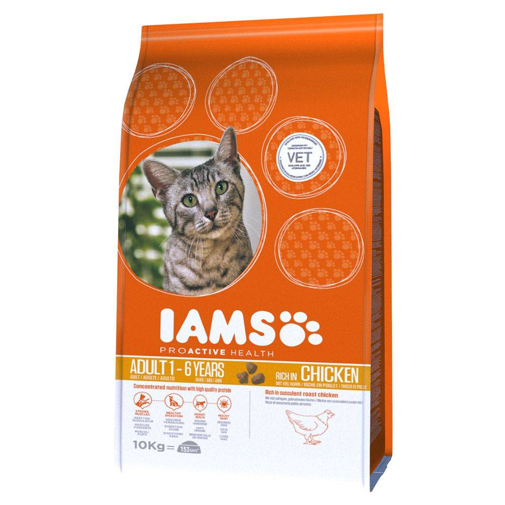 IAMS Pro Active Health Adult Rich in Chicken - säästöpakkaus: 2 x 10 kg