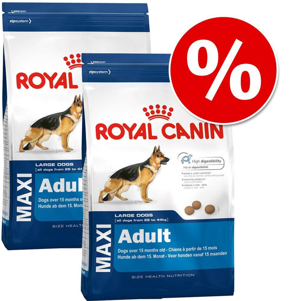 Royal Canin Size -säästöpakkaus - 2 x 10 kg Medium Health Nutrition Dermacomfort