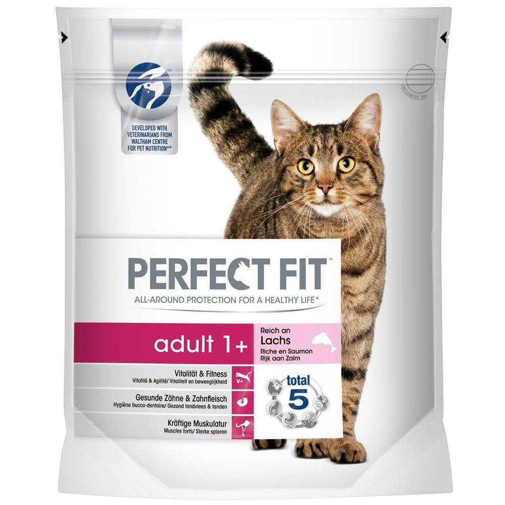 Perfect Fit Adult 1+ - Rich in Salmon - 1,4 kg