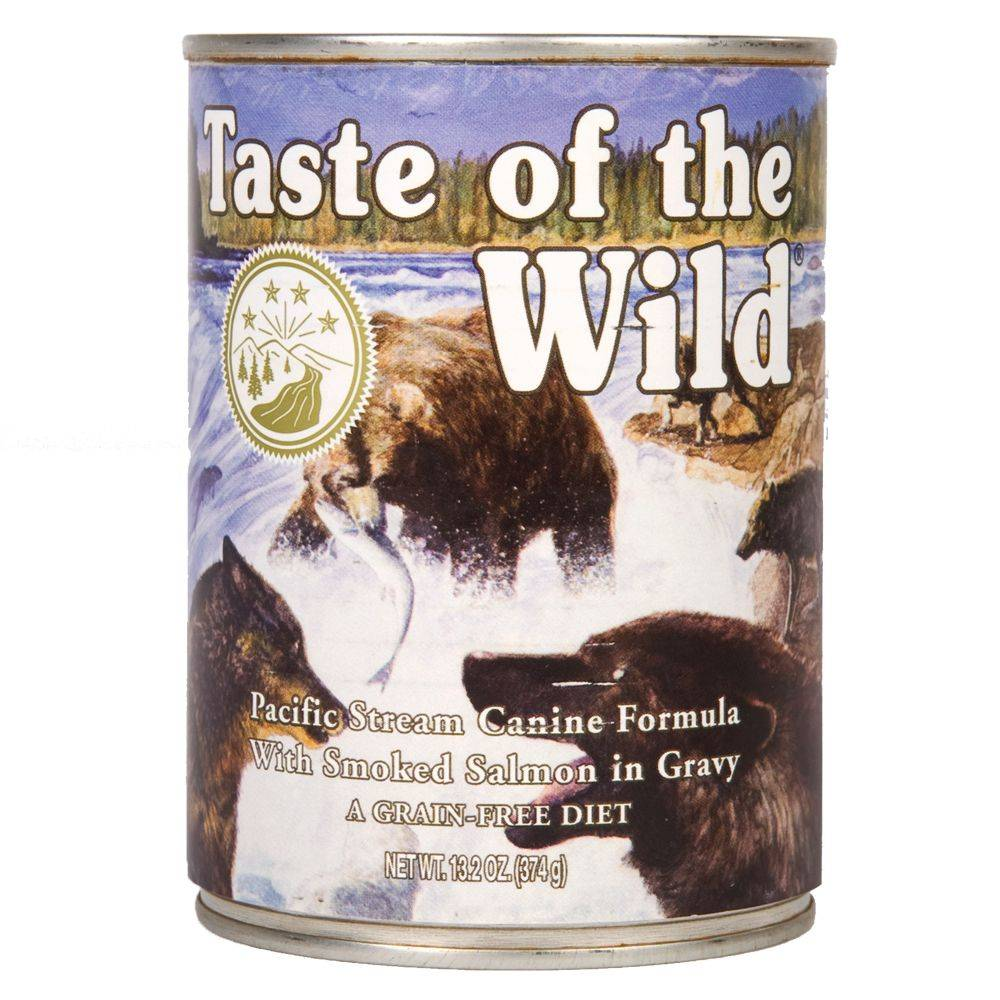 Taste of the Wild - Pacific Stream Canine - 12 x 390 g