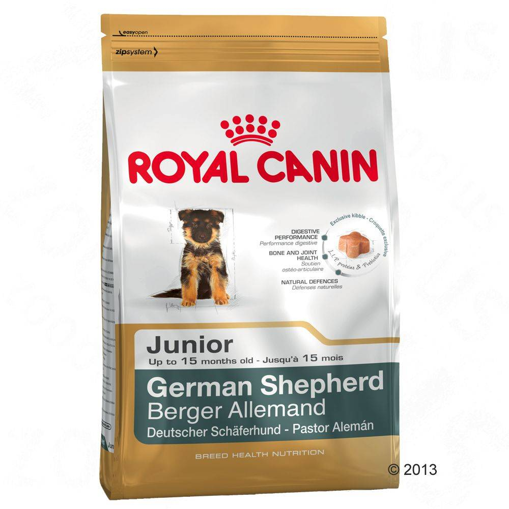 Royal Canin Breed German Shepherd Junior - 12 kg + 2 kg kaupan päälle!