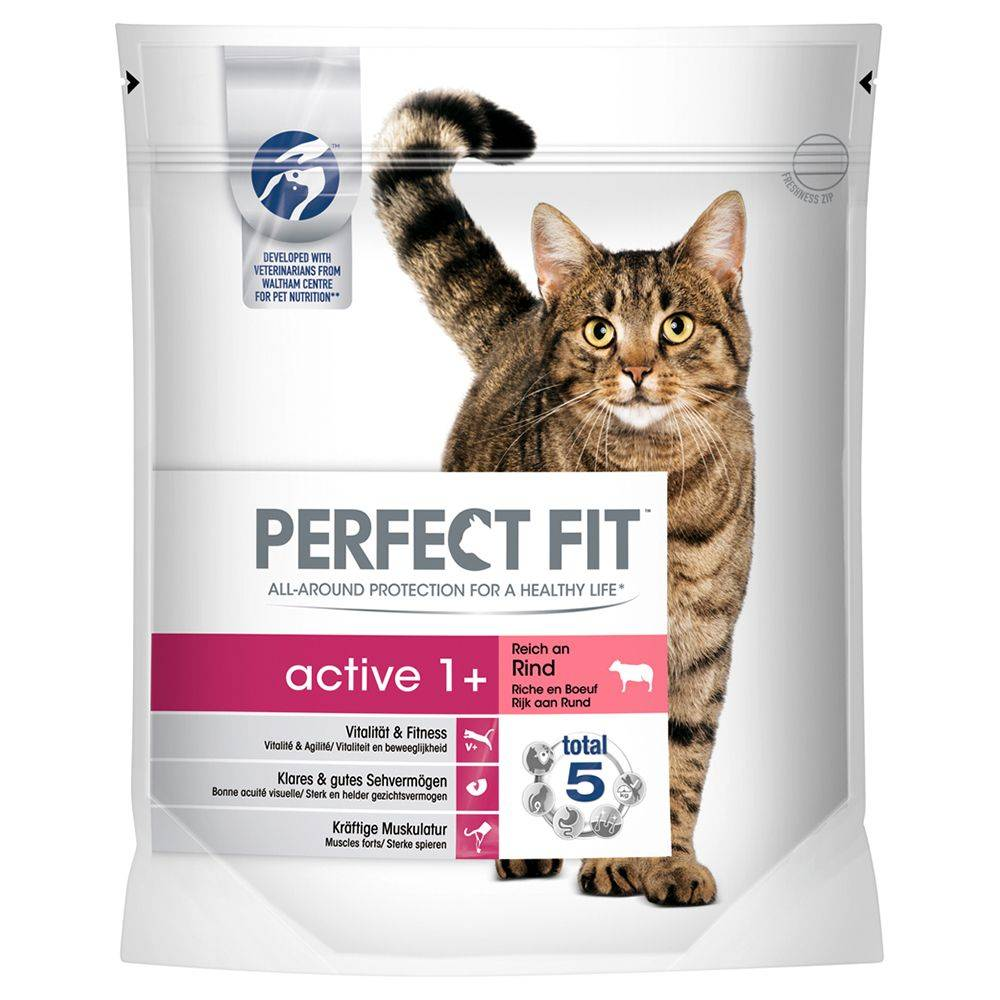 Perfect Fit Active 1+ Rich in Beef - 1,4 kg