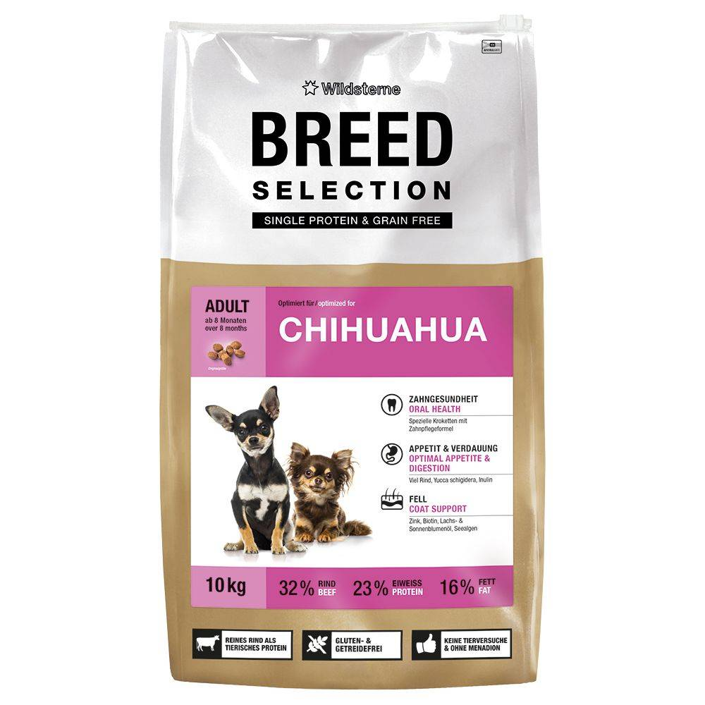 Wildsterne Breed Selection Chihuahua - 2,5 kg