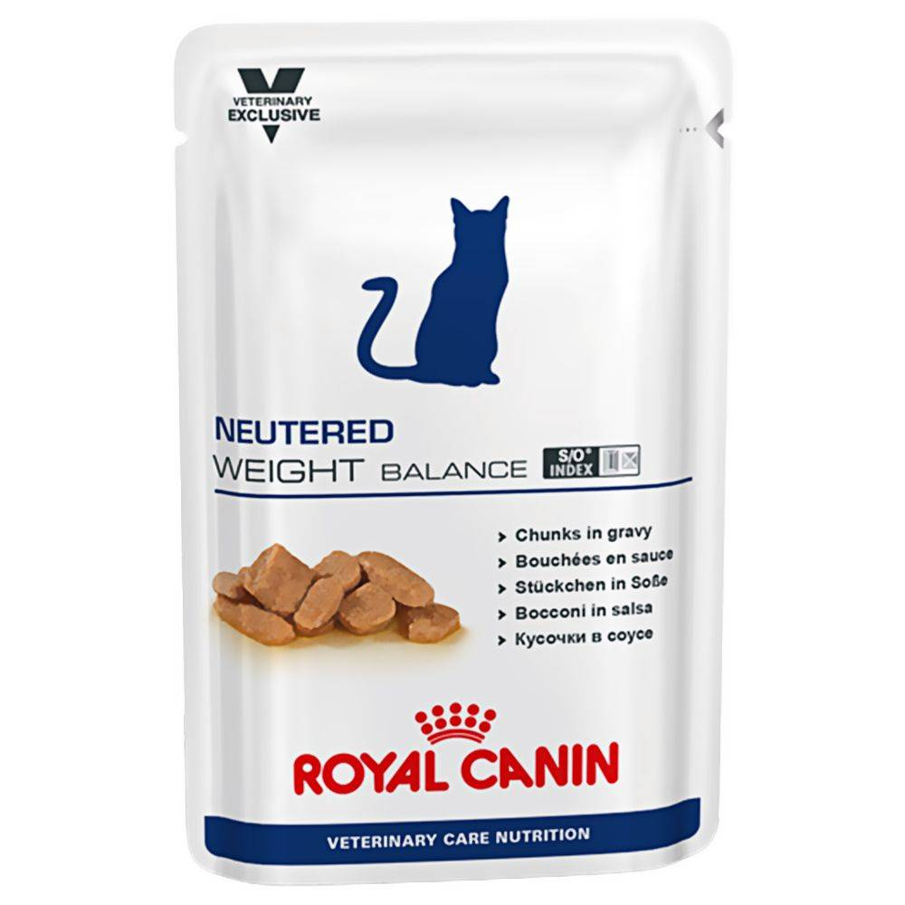 Royal Canin Veterinary Diet Royal Canin Neutered Weight Balance - Vet Care Nutrition - 24 x 100 g