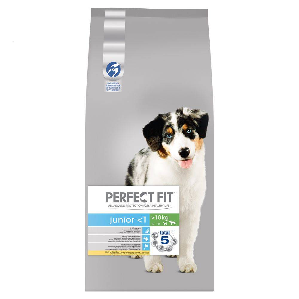 Perfect Fit Junior Dogs ( 10kg) - 2 x 14,5 kg