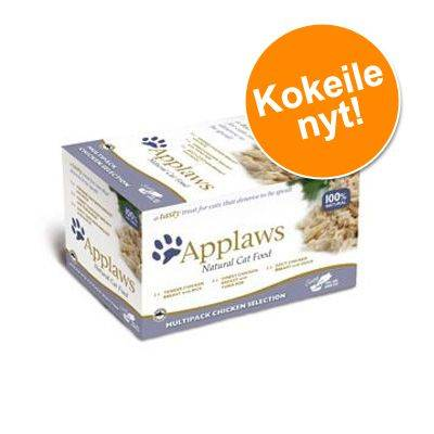 Applaws Cat Pot -lajitelma 8 x 60 g - kalalajitelma