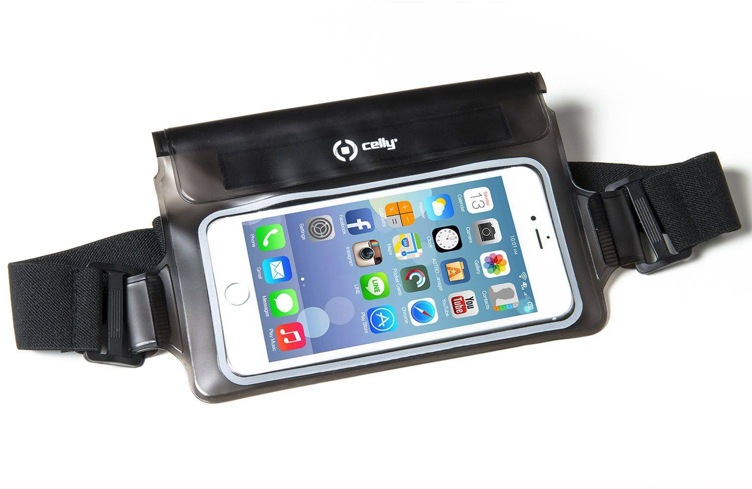 Celly Splash Belt ( iPhone ) - Musta
