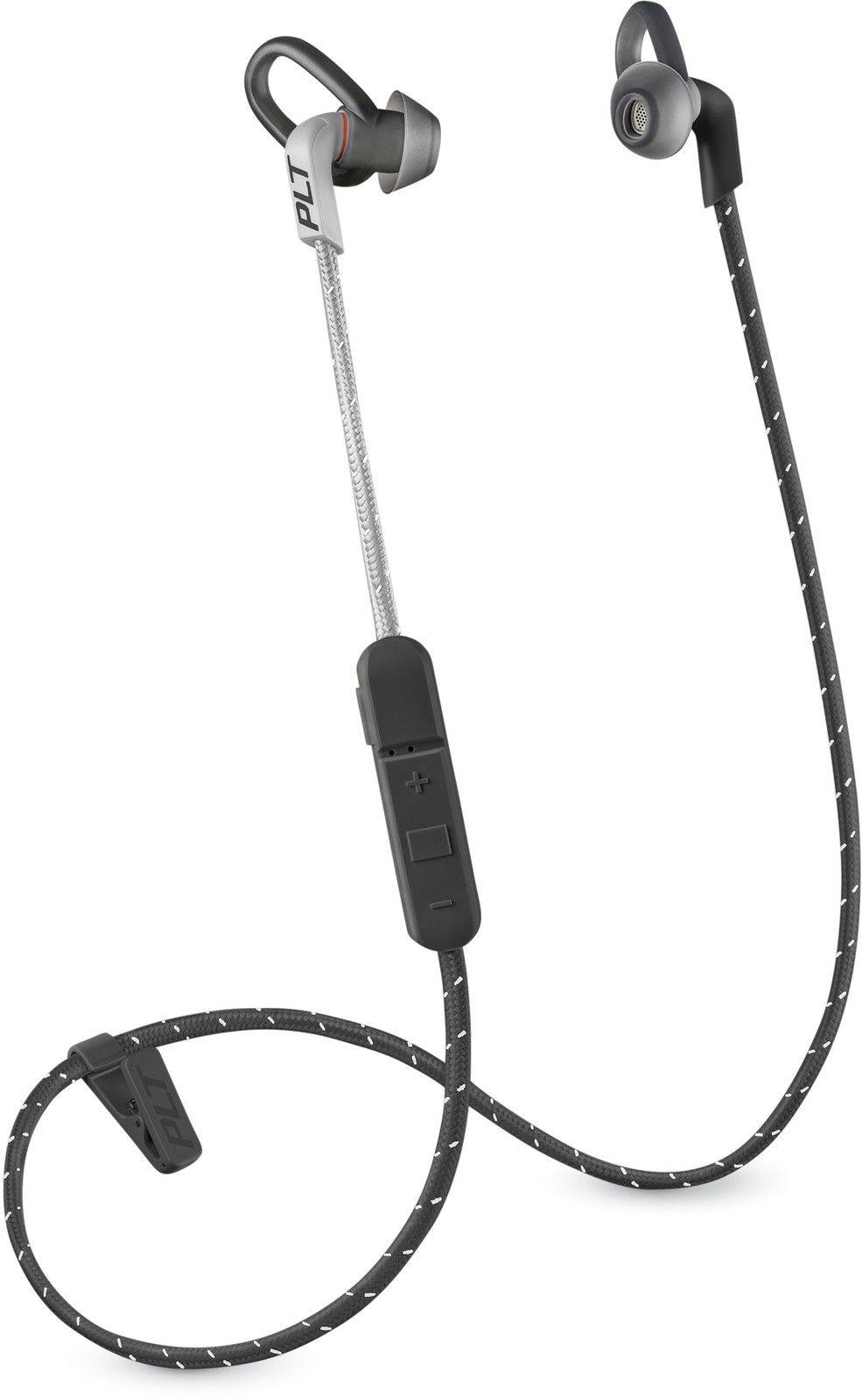 Plantronics Backbeat Fit 305 - Harmaa/lime green