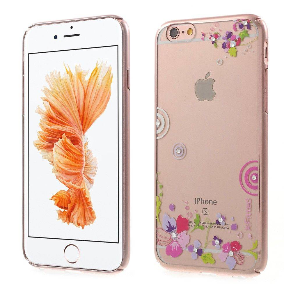 X-Fitted Brilliant kukkia ( iPhone 6 / 6S)