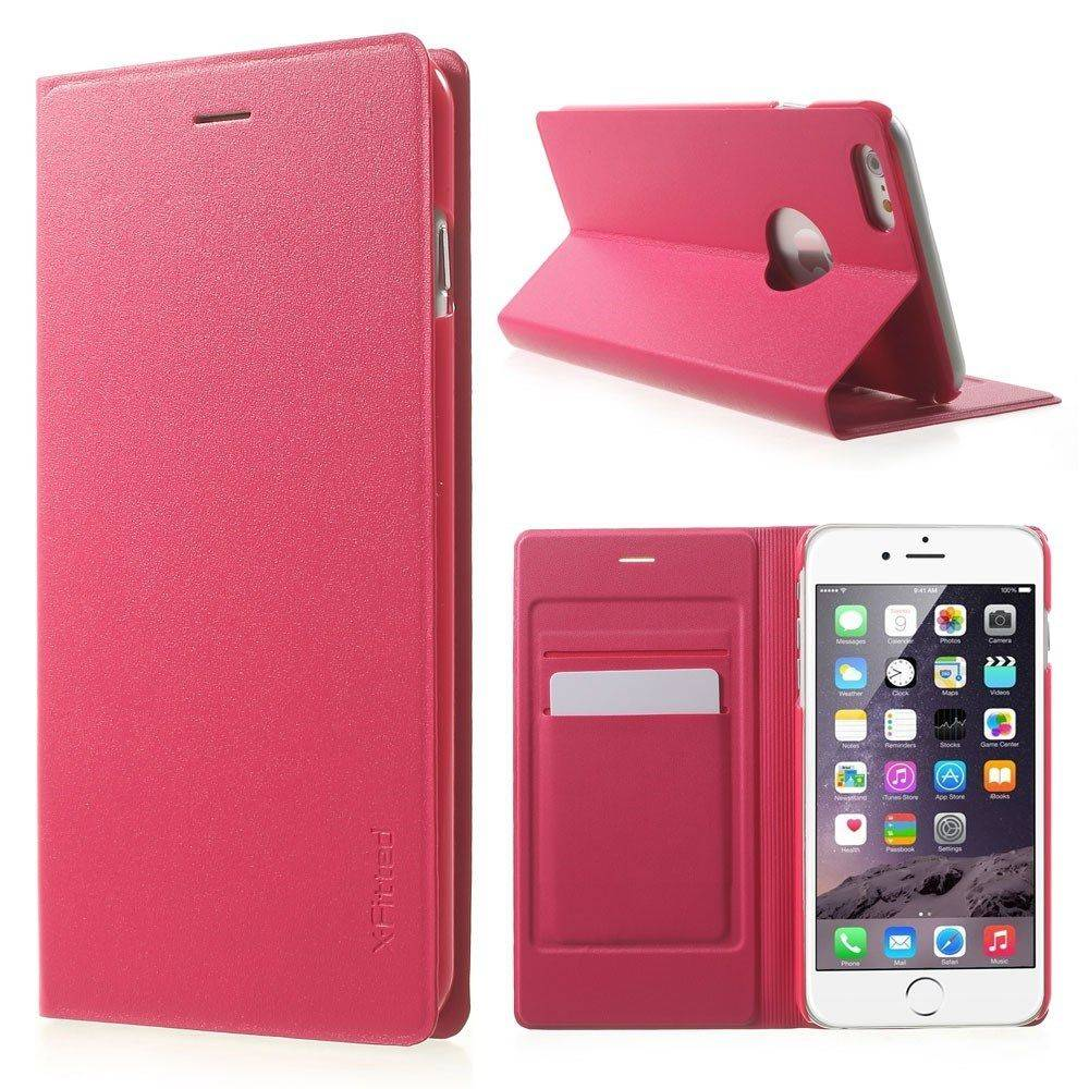 X-Fitted Folio Pro ( iPhone 6 (S) Plus) - Valkoinen