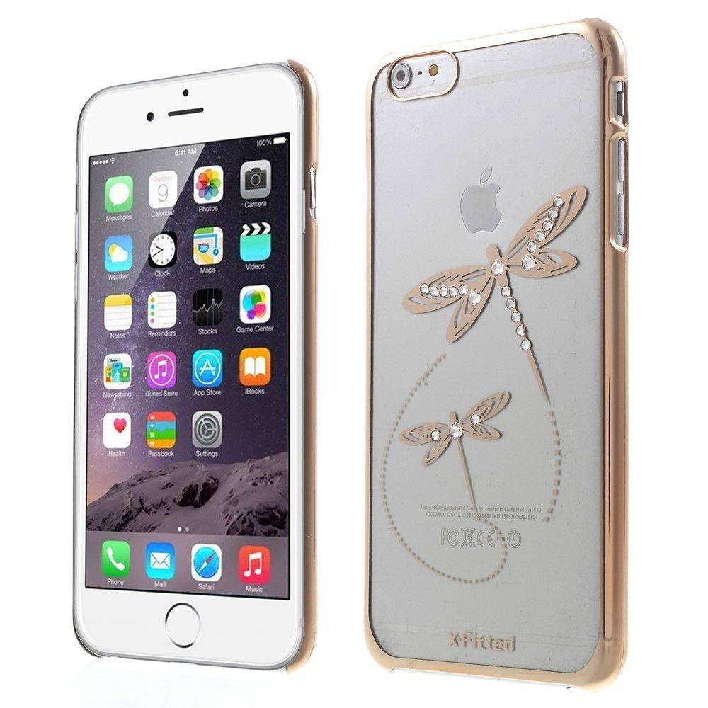 X-Fitted Swarovski Sudenkorento ( iPhone 6 / 6S) - Pinkki