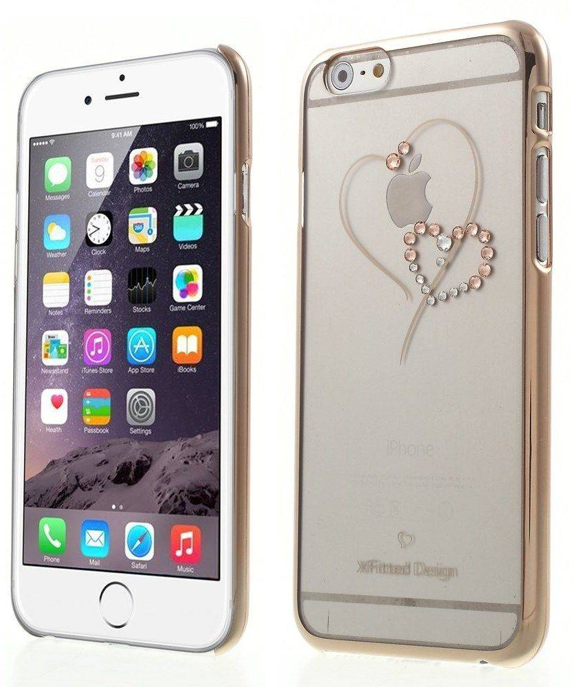 X-Fitted Swarovski Syd�met ( iPhone 6 / 6S) - Pinkki