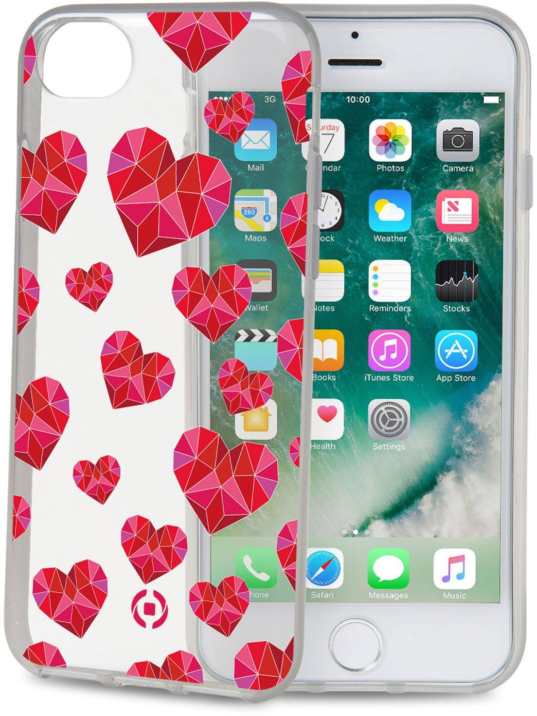 Celly Cover Syd�met (iPhone 8/7/6/6S)