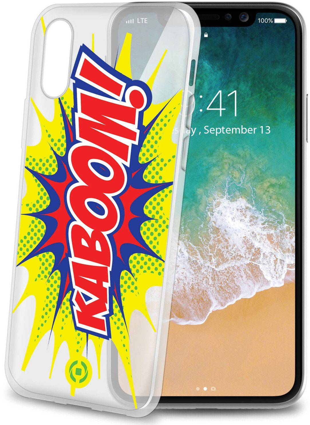 Celly Cover Kaboom ( iPhone X)