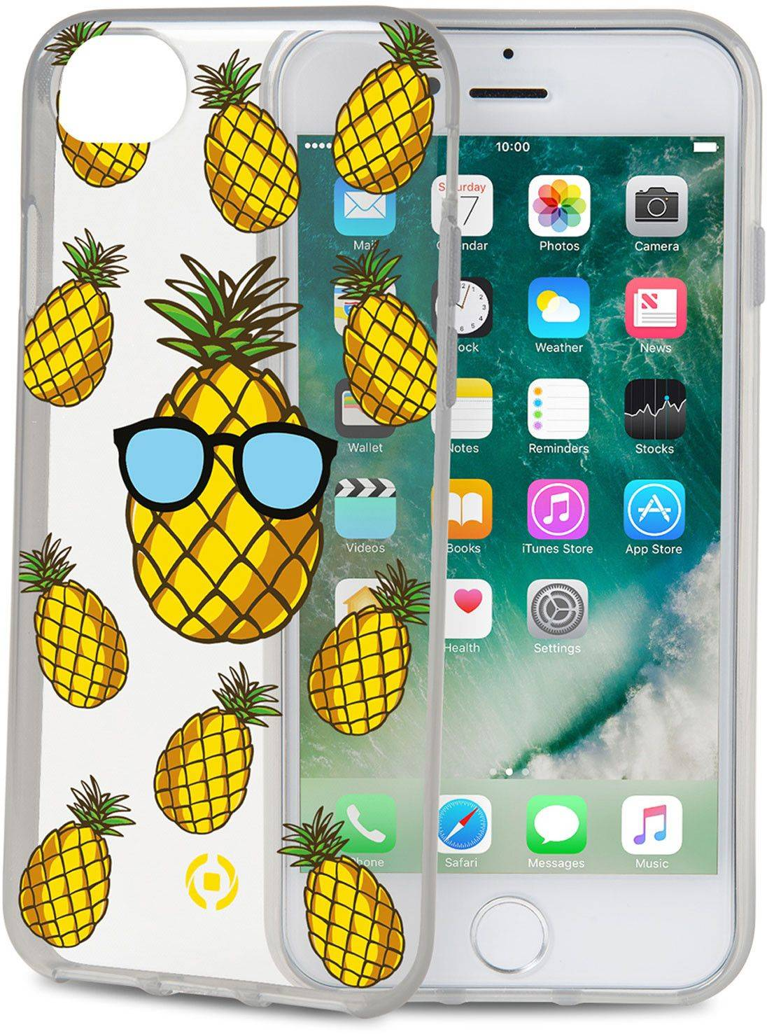 Celly Cover Pineapple (iPhone 8/7/6/6S)