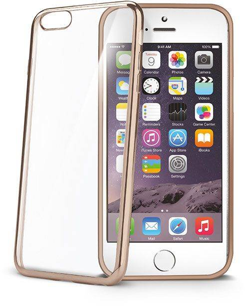 Celly Laser Cover ( iPhone 6 / 6S) - Kulta