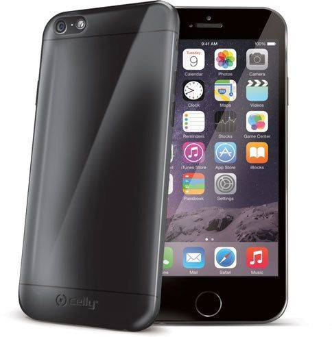 Celly Gelskin Cover ( iPhone 6 (S) Plus) - Musta