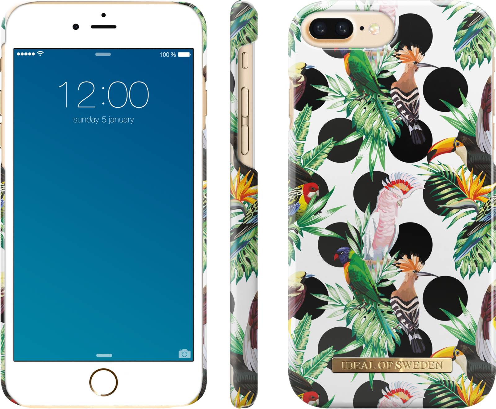 iDeal of Sweden Tropical Dots (iPhone 8/7/6(S) Plus)