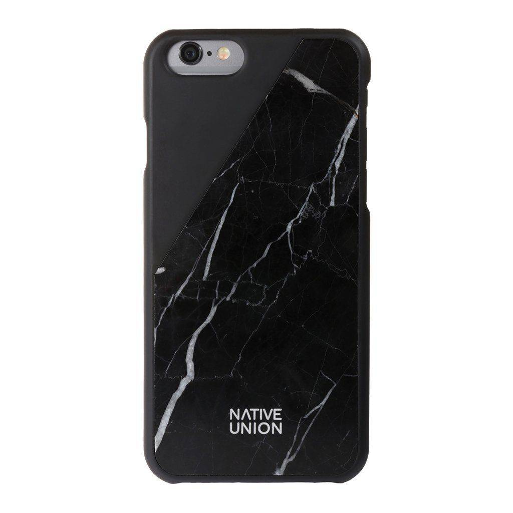 Native Union Clic Marble ( iPhone 6 / 6S) - Musta