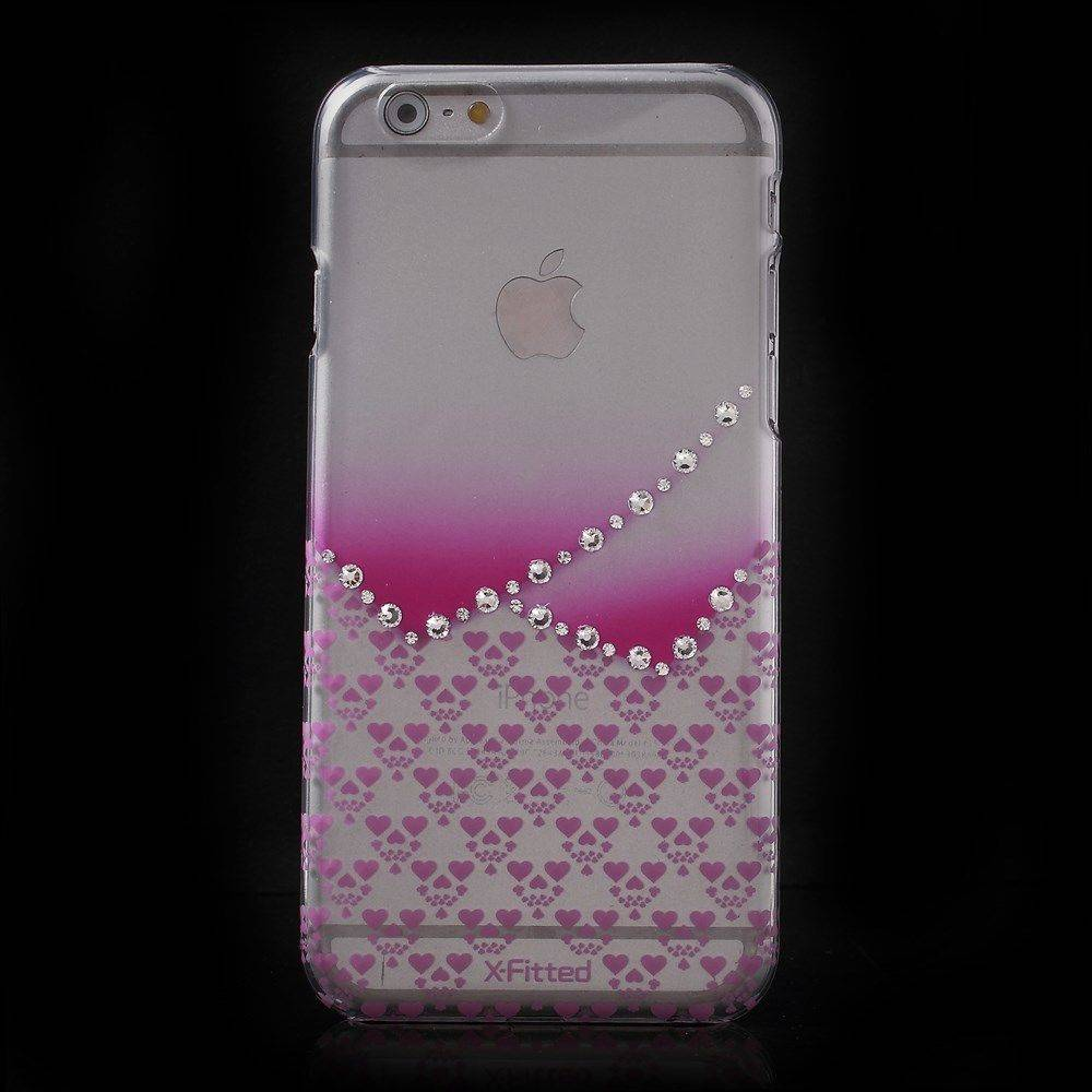 X-Fitted Swarovski Pink ( iPhone 6 / 6S)