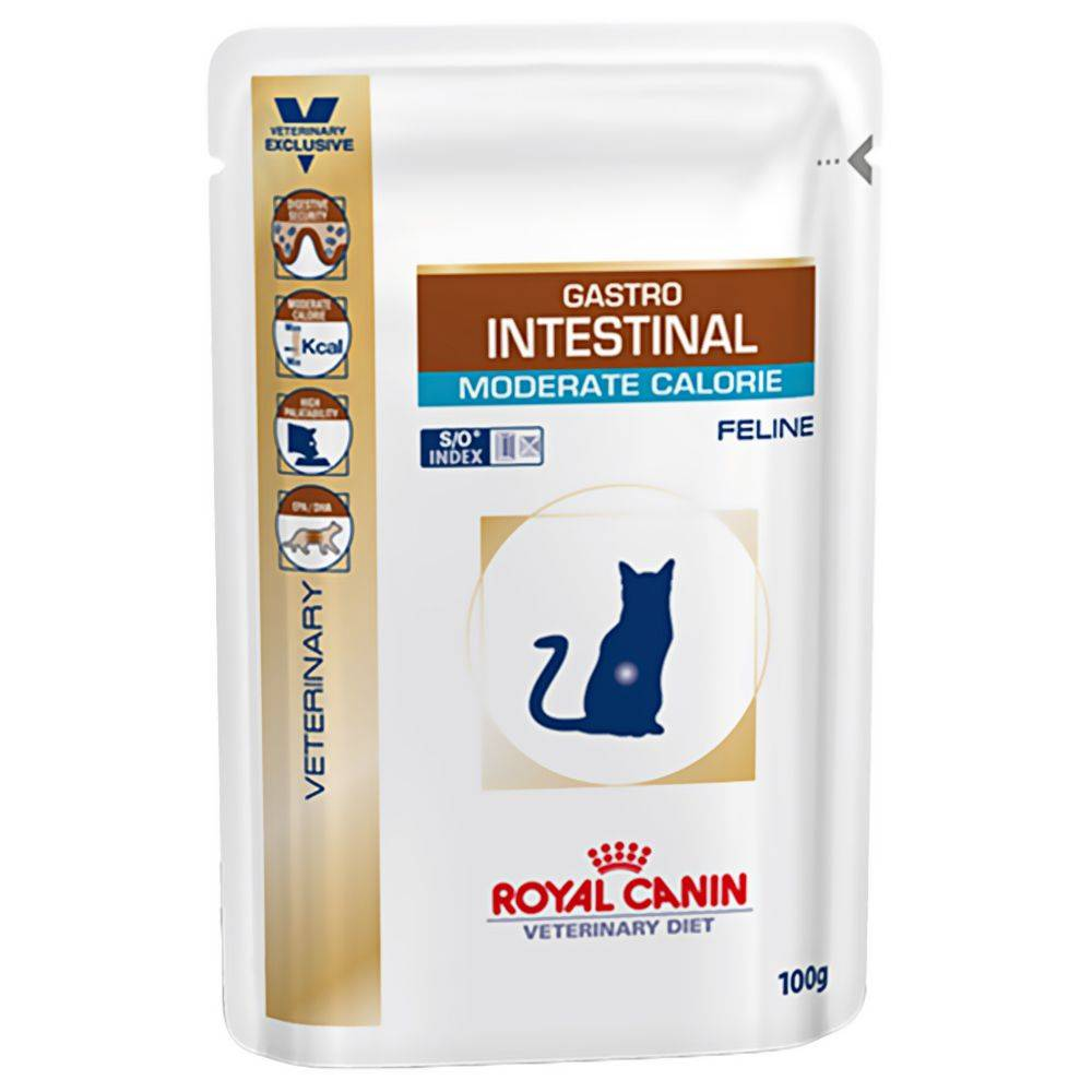 Royal Canin Veterinary Diet Royal Canin Vet Diet - Gastro Intestinal Moderate Calorie - 12 x 100 g