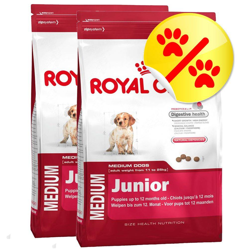 Royal Canin Size Medium-säästöpakkaus - 2 x 10 kg Medium Health Nutrition Dermacomfort