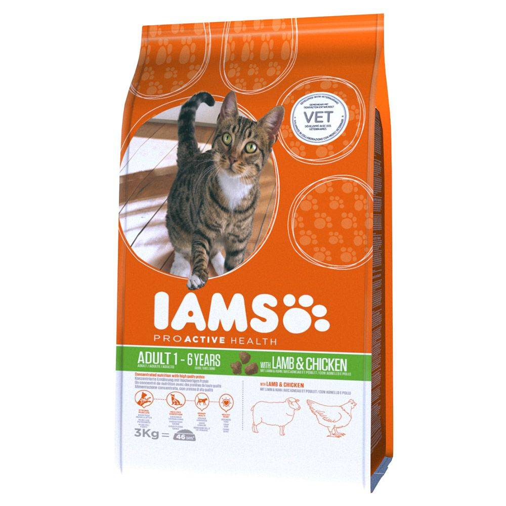 IAMS Pro Active Health Adult Lamb & Chicken - 3 kg