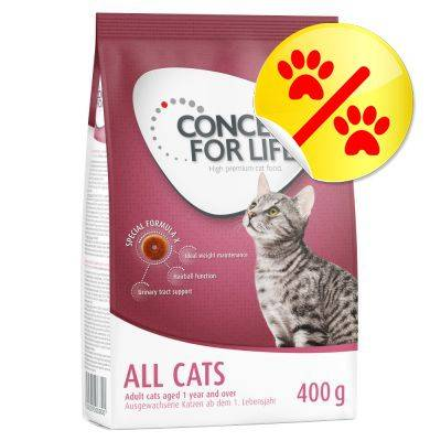 Concept for Life 400 g Concept for Life pussi erikoishintaan! - Maine Coon