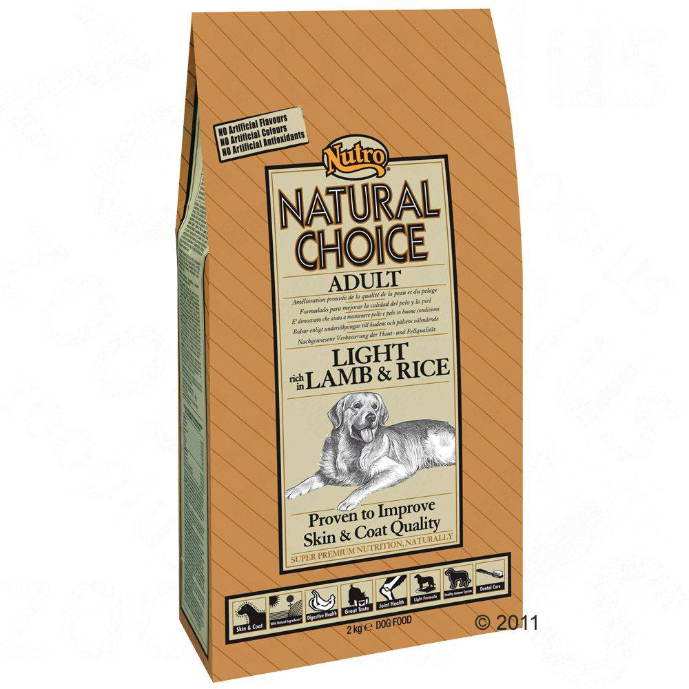 Nutro Natural Choice Nutro Choice Adult Light rich in Lamb & Rice - 10 kg