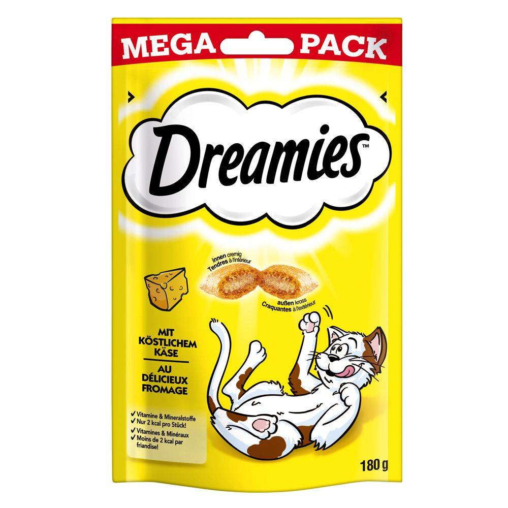 Dreamies Big Pack, juusto - 6 x 180 g