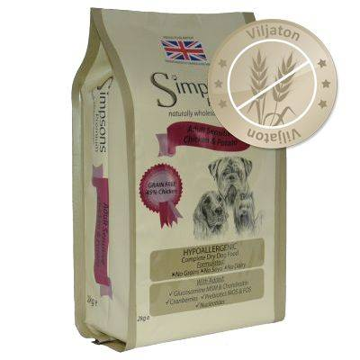 Simpsons Premium Sensitive Adult Chicken & Potato - 12 kg