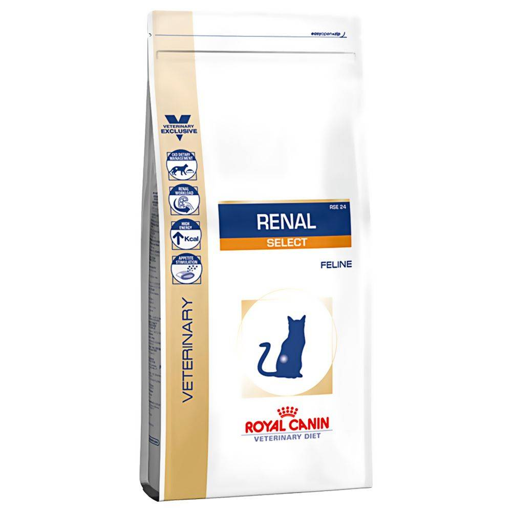 Royal Canin Veterinary Diet - Renal Select - 2 kg
