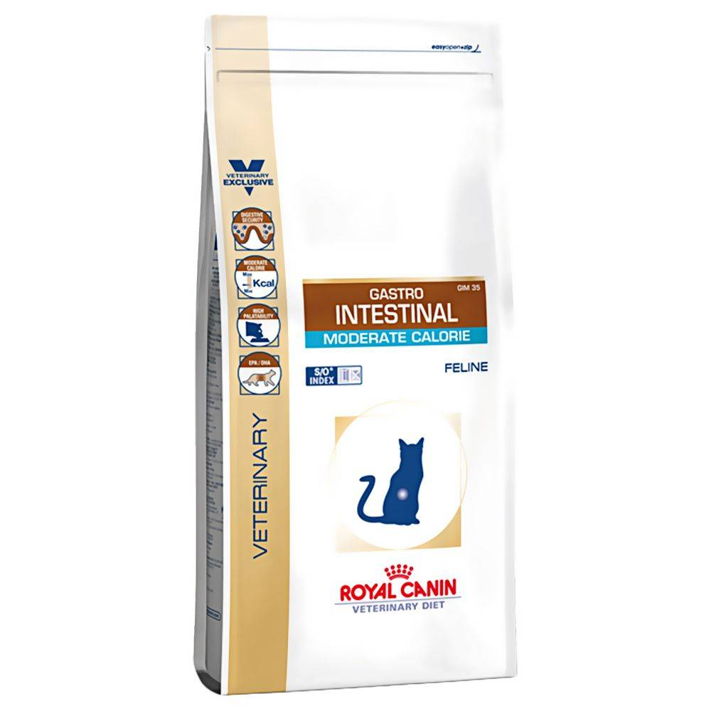 Royal Canin Veterinary Diet Royal Canin Vet Diet - Gastro Intestinal Moderate Calorie - 4 kg