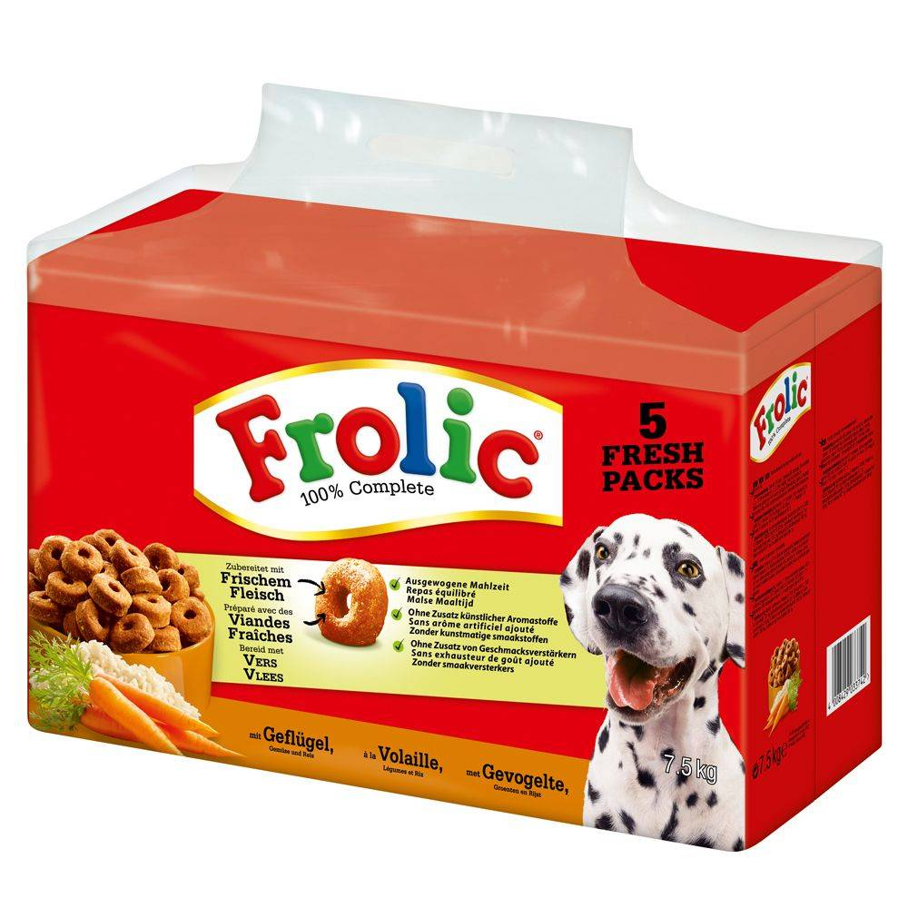 Frolic Complete with Poultry - 7,5 kg
