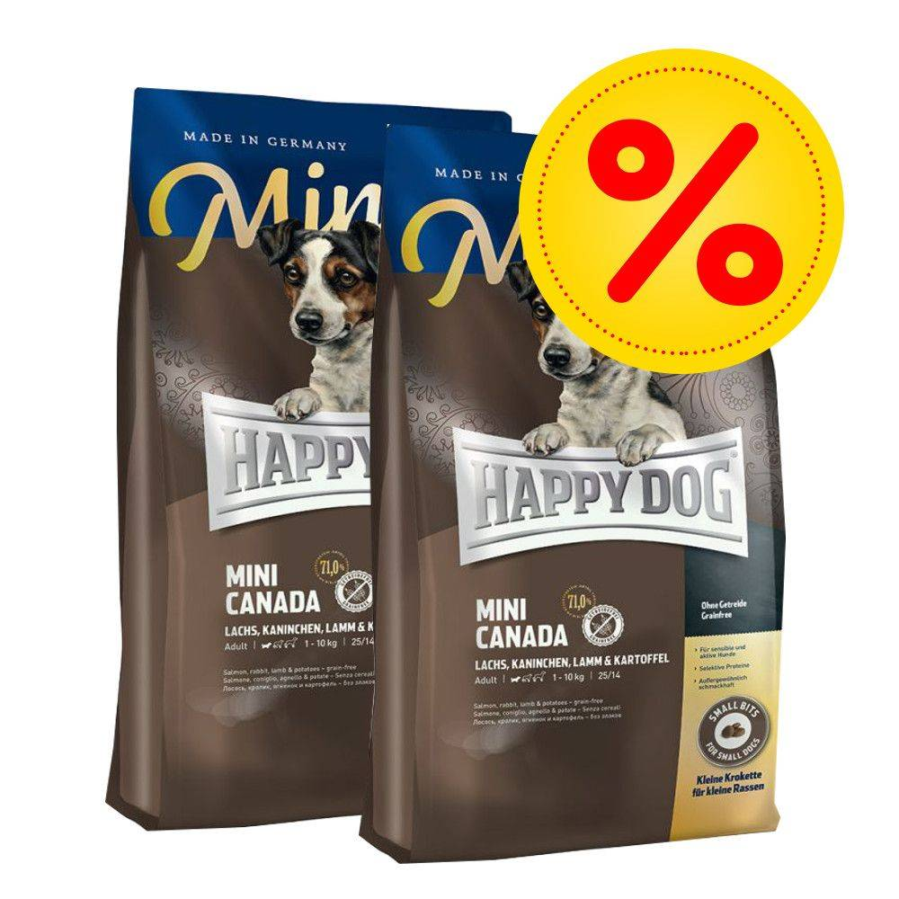 Happy Dog Supreme Young Happy Dog Supreme Mini -säästöpakkaus - 2 x 4 kg Mini Baby & Junior