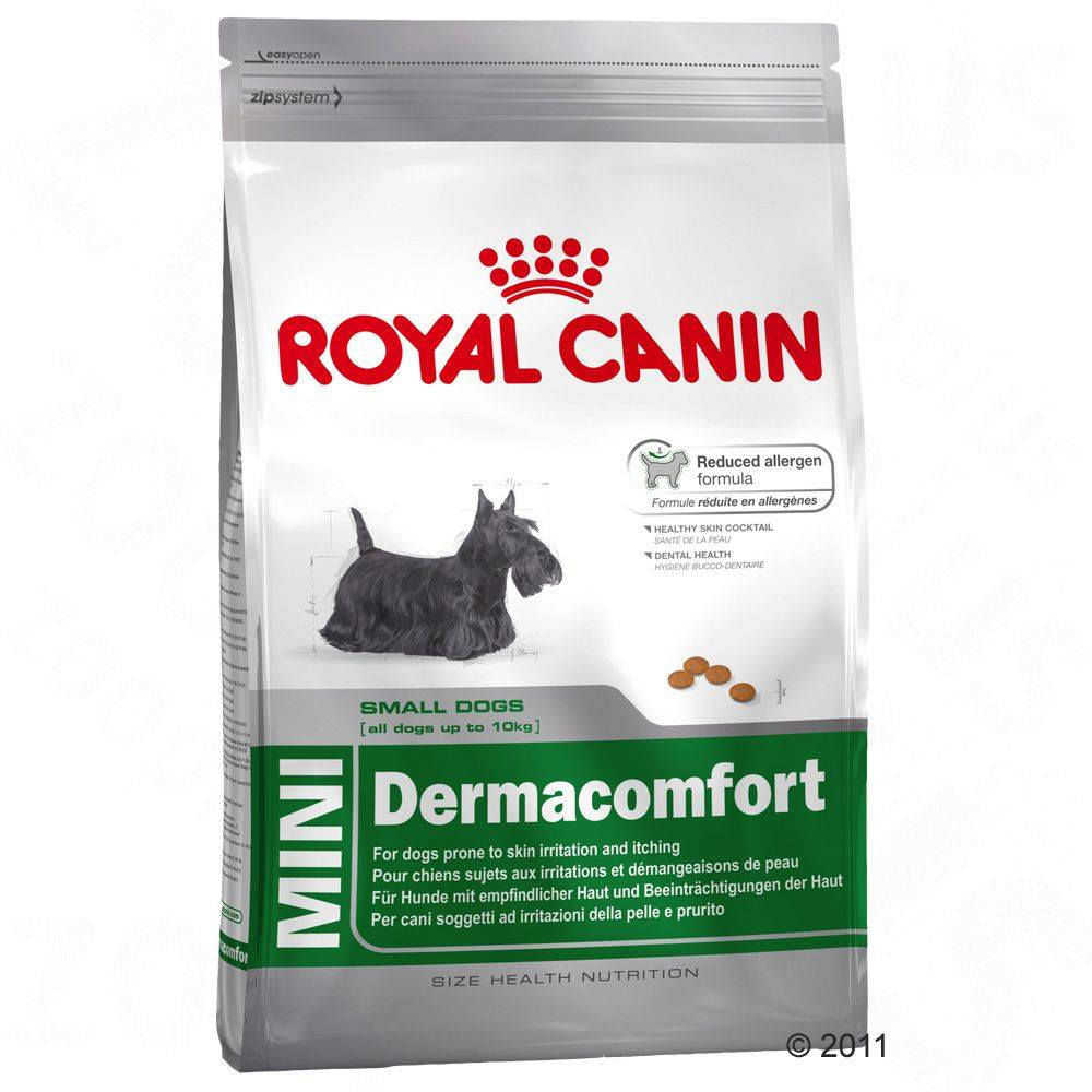 Royal Canin Size Royal Canin Health Nutrition Dermacomfort Mini - säästöpakkaus: 3 x 4 kg
