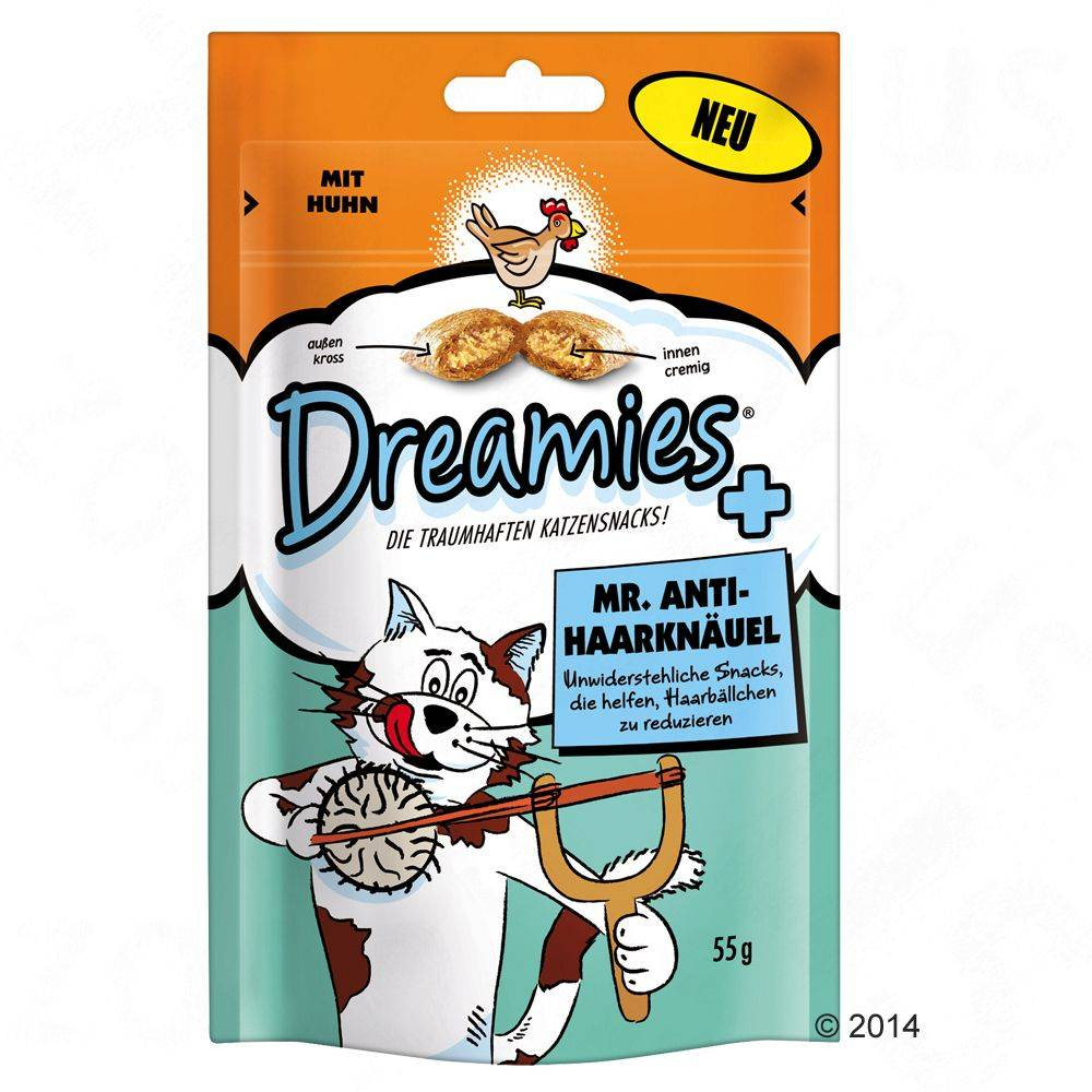 Dreamies Mr. Anti-Hairball - 330 g (6 x 55 g)