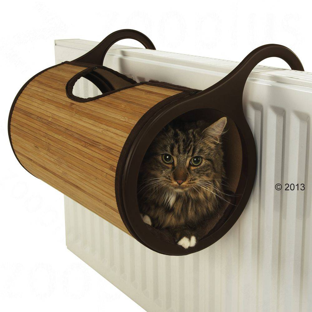 Rosewood Jolly Moggy Bambus -patteripeti - Ø 26 x P 47 cm