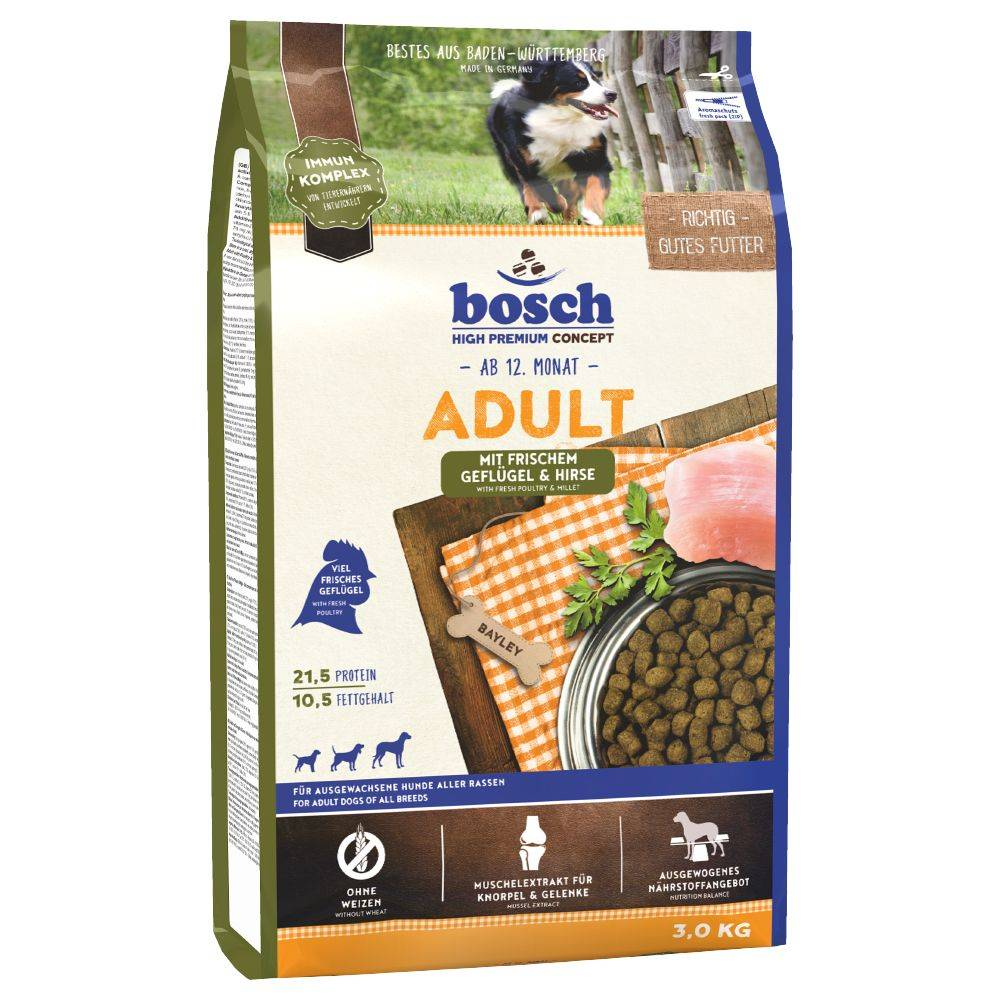 Bosch Adult Poultry & Millet (uusi resepti) - 15 kg
