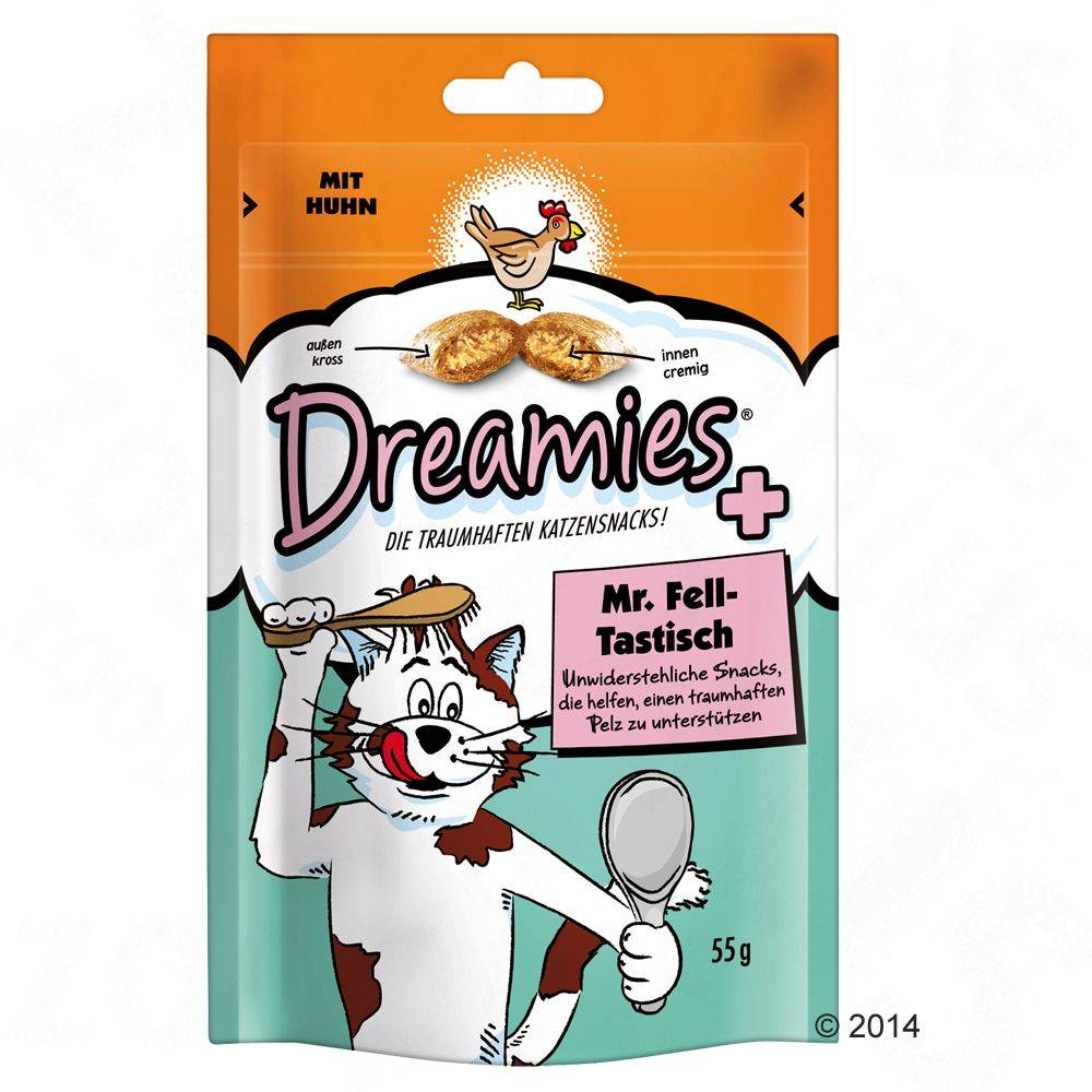 Dreamies Mr. Fell-Tastisch - 330 g (6 x 55 g)