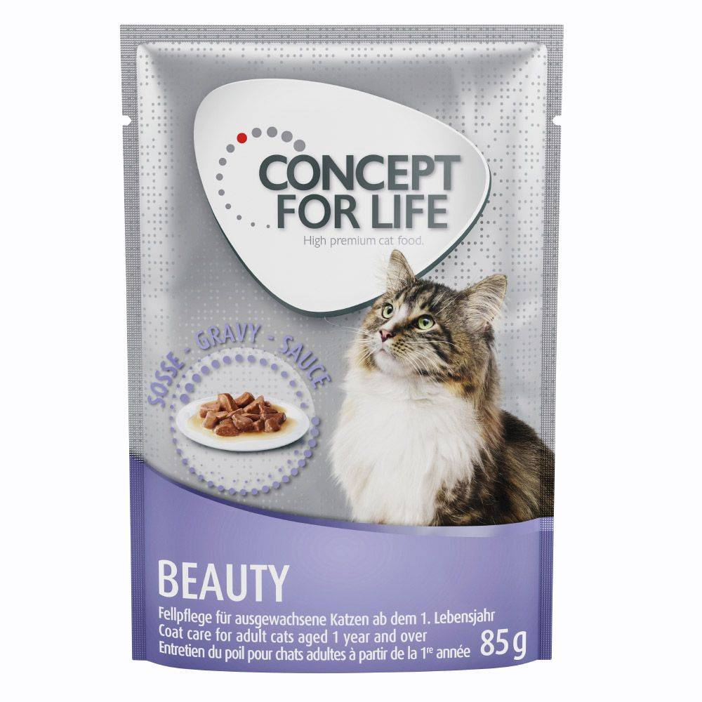 Concept for Life Beauty - in Gravy - 48 x 85 g